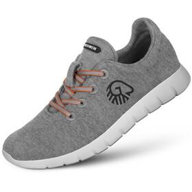 Giesswein Merino Wool Chaussures de running Homme, slate